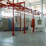 powder enamel application systems