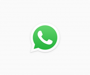 Press button to start Whatsapp messenger