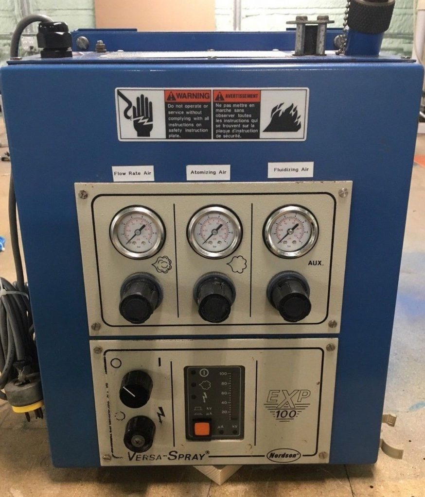 Nordson EXP controller for pipecoating applications